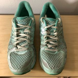 Women's ASICS Kayano 20 Running Shoes in Mint